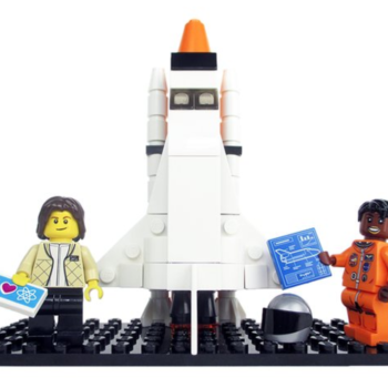 """OMG: The real-life woman who inspired """"Hidden Figures"""" just became a Lego figure"""