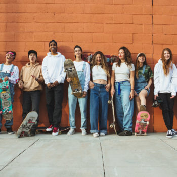 Urban Outfitters tapped 13 female skateboarders for its latest ad campaign, and the results are truly badass