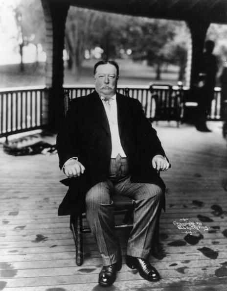 But first, steak? William Howard Taft apparently ate steak for breakfast every day
