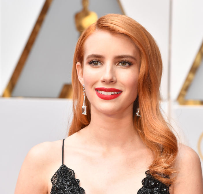 While the world is marveling at Emma Roberts' pantsuit, we can't get enough of her ombre sunglasses