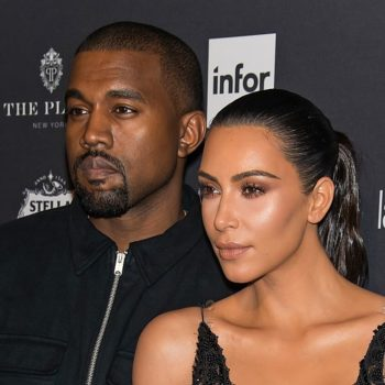 Kim Kardashian shared a throwback photo with Kanye West from when they were *just friends*