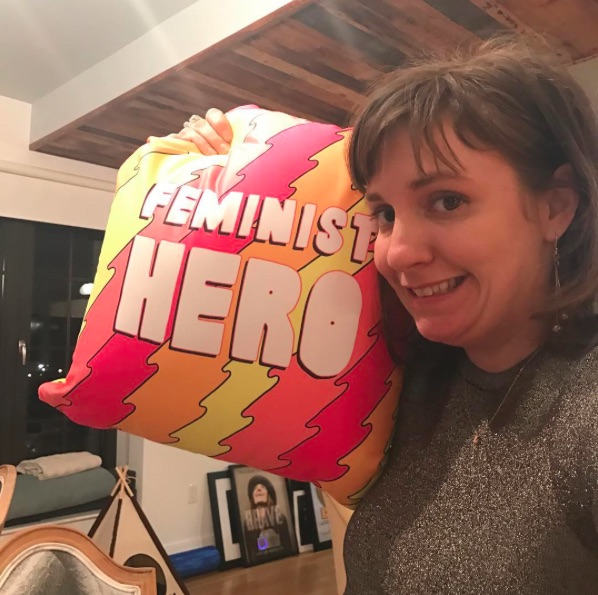 Lena Dunham revealed a gorgeous new tattoo in this topless selfie