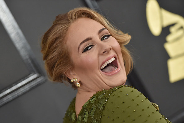 Adele brought an Adele impersonator on stage, as if one Adele wasn't amazing enough