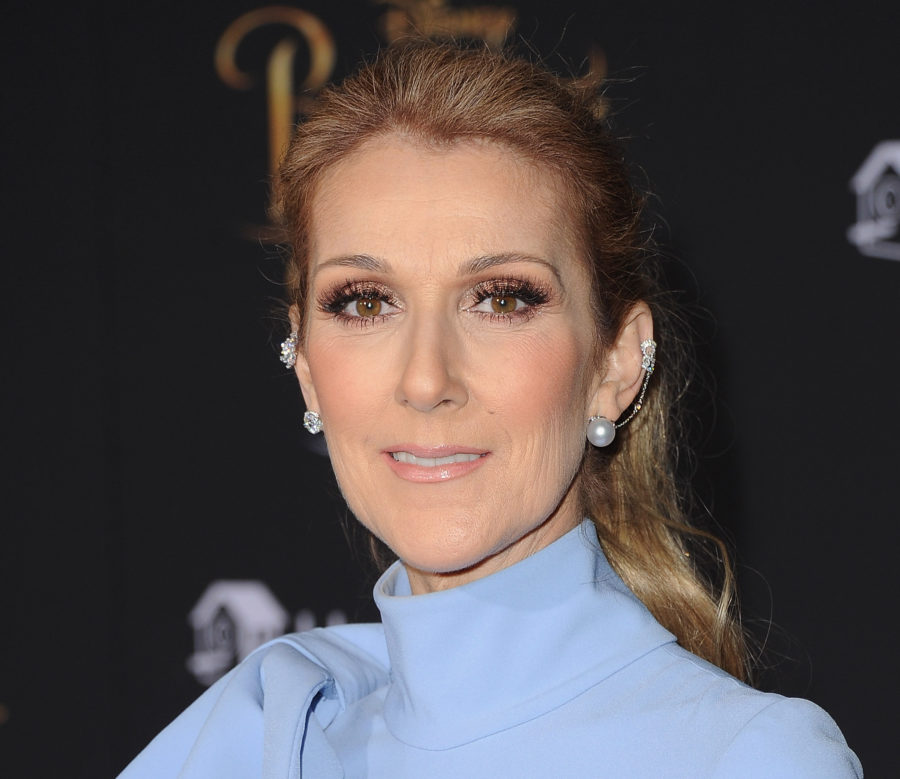 "Celine Dion's floral coat is officially ""Mary Poppins chic"""