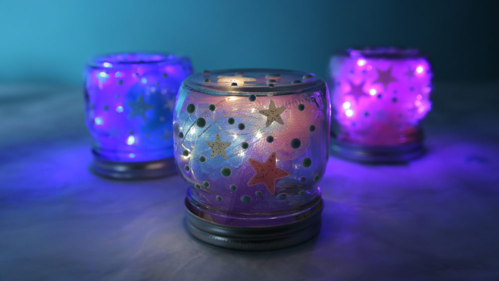 This DIY galaxy night-light will make your living space so far-out
