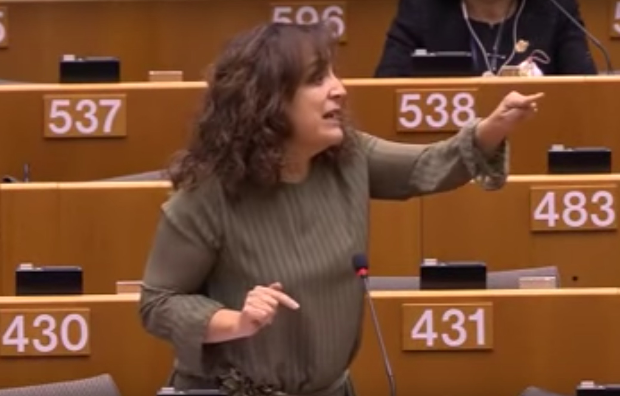 Your feminist fire of the day is watching this woman smack down sexist comments in the European Parliament