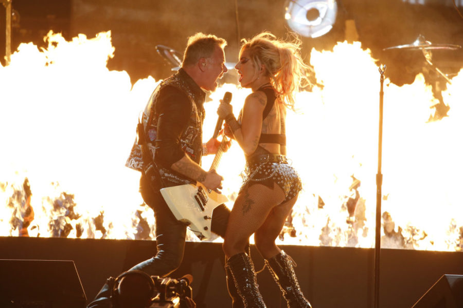 This is what that Lady Gaga and Metallica performance would have sounded like with working mics