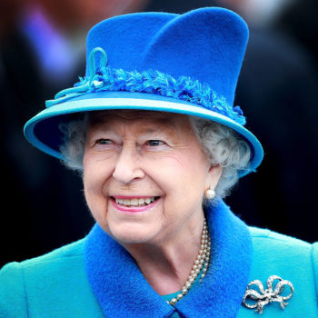 "Queen Elizabeth told soldiers that she's ""less frightening"" now that she's 90"