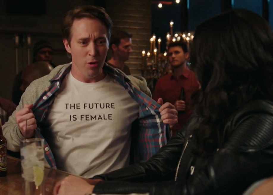 "This very NSFW ""SNL"" sketch about feminism and getting hit on at a bar is hilariously relatable"