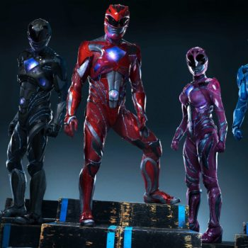 The original Pink Ranger interviewed the new Power Rangers, and it's both mighty and morphin'