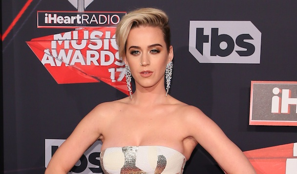 Katy Perry had quinoa stuck in her teeth on the red carpet, responded like a BOSS