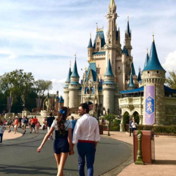 """John Stamos calls himself """"Prince Eric"""" at Disney World, and that is accurate AF"""