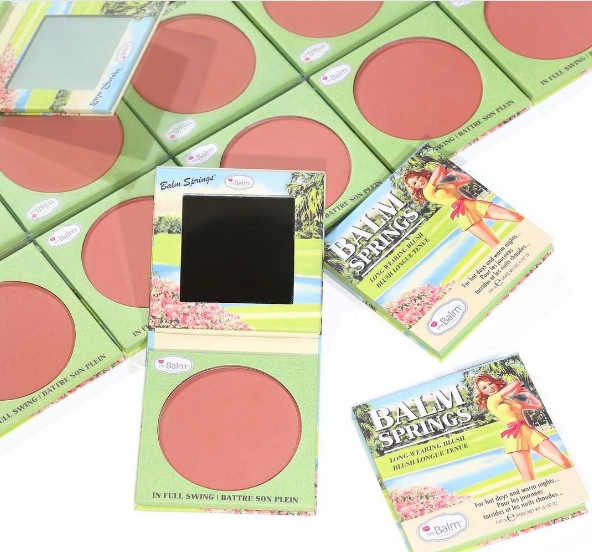 The Balm Cosmetics' cheeky new Balm Springs blush has us SO ready for Coachella