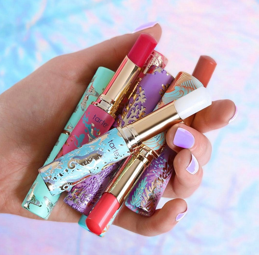 Here's everything Tarte Cosmetics dropped, and it's the perfect spring makeup starter kit