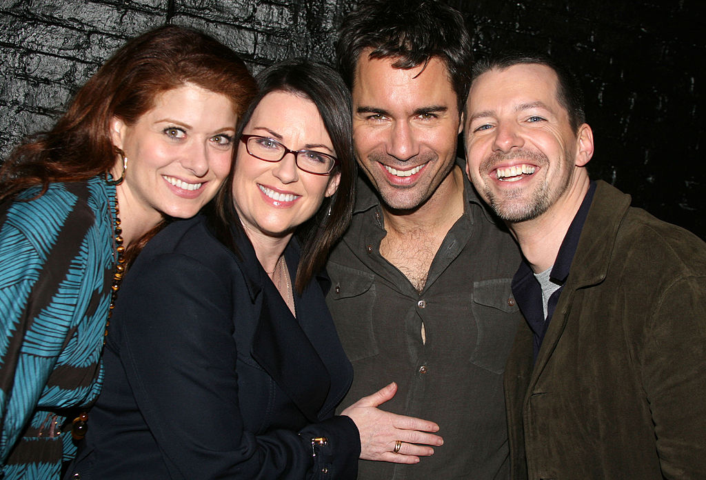 "These behind-the-scenes pics of the ""Will & Grace"" reunion promo shoot will get you so excited for the new season"
