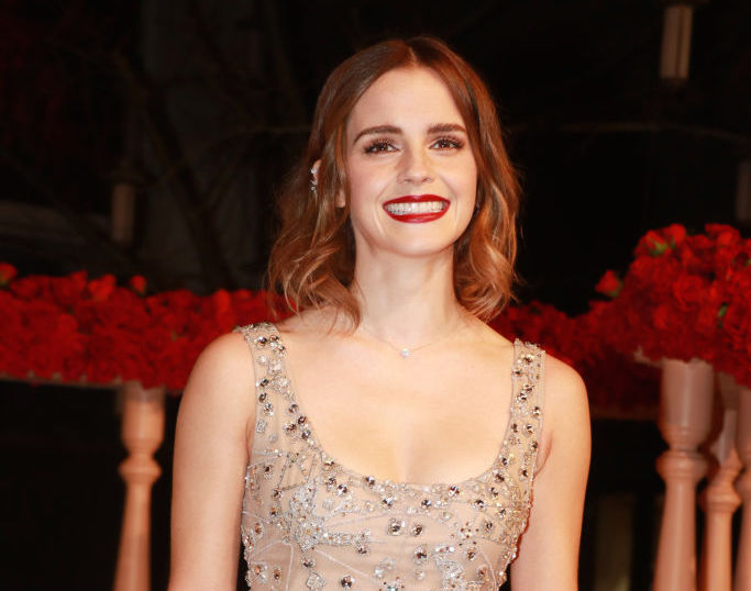 """Emma Watson flipped out at the """"Beauty and the Beast"""" premiere because of this one person"""