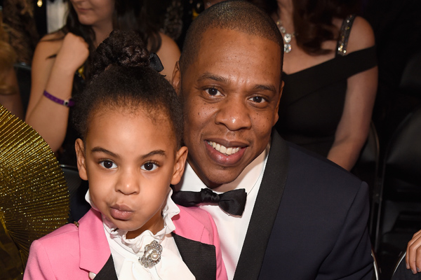 Twitter thinks Blue Ivy's dress might have a hidden message to Adele on it, and they may be right