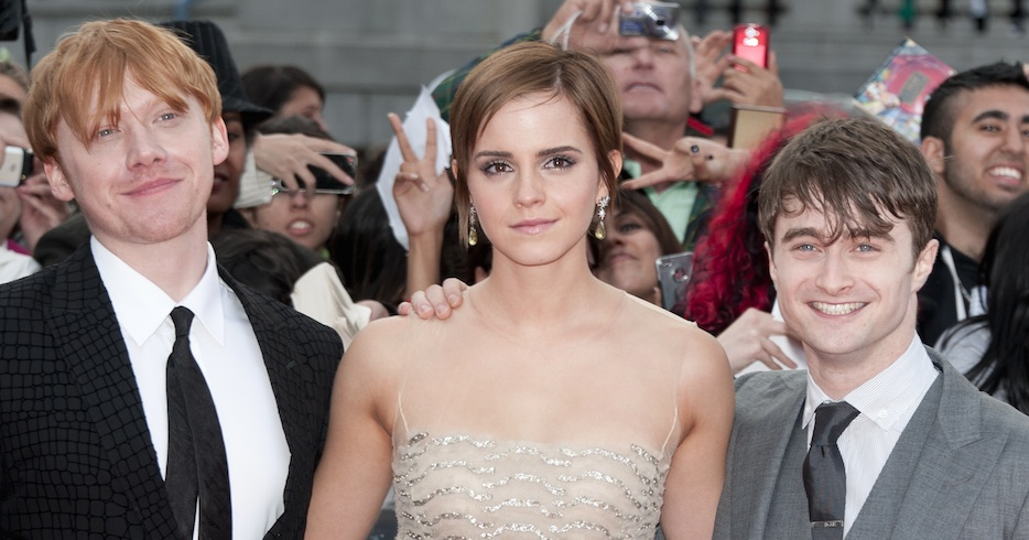 """Emma Watson revealed the """"Harry Potter"""" cast has a group chat, and, FOMO alert!"""