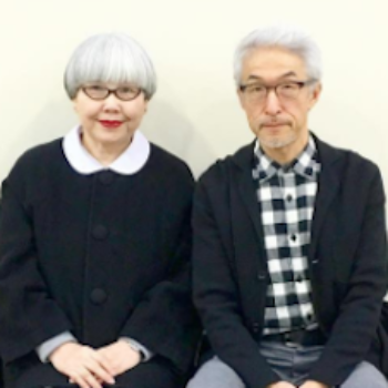 This married couple wears delightful matching outfits almost daily to show off their love of 37 years
