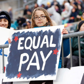 This report says the gender pay gap could close by 2040, but it's complicated