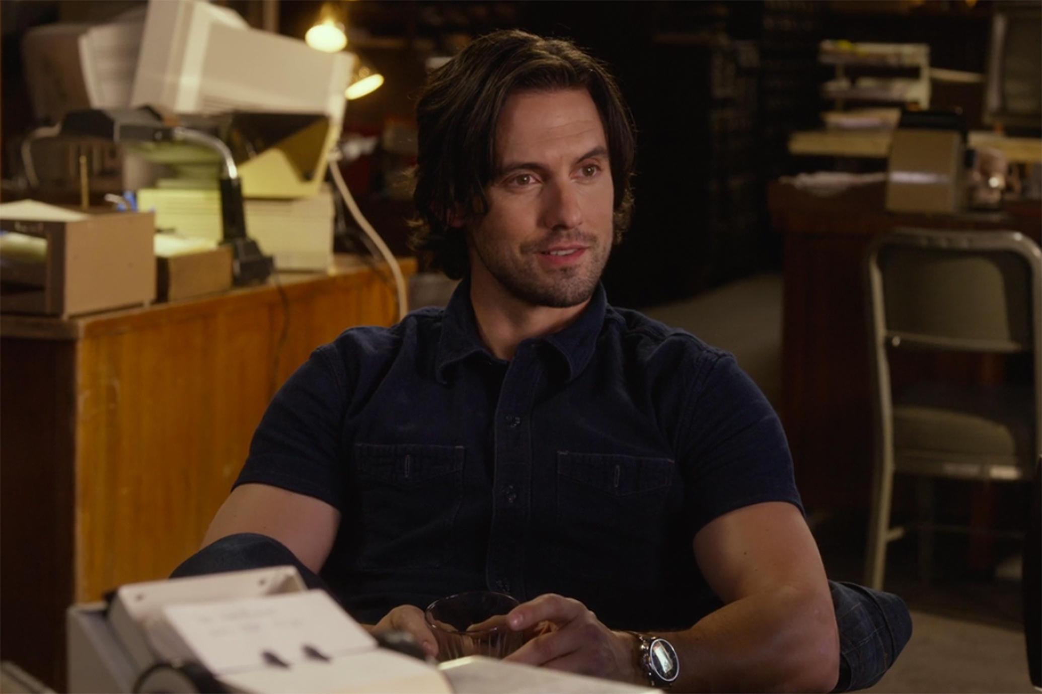 "Well twist the knife a little bit more, Milo Ventimiglia doesn't sound up for more ""Gilmore Girls"""