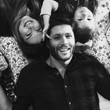 """""""Supernatural's"""" Jensen Ackles shared a photo of his newborn twins that has us wanting to laugh-cry"""