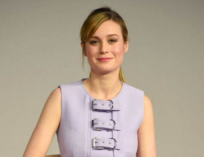 Brie Larson's off-duty look was taken to the next level with a bag that unleashed her inner tigress