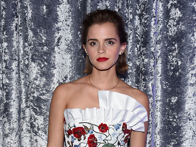 You can tell Emma Watson feels extra confident in this edgy ensemble