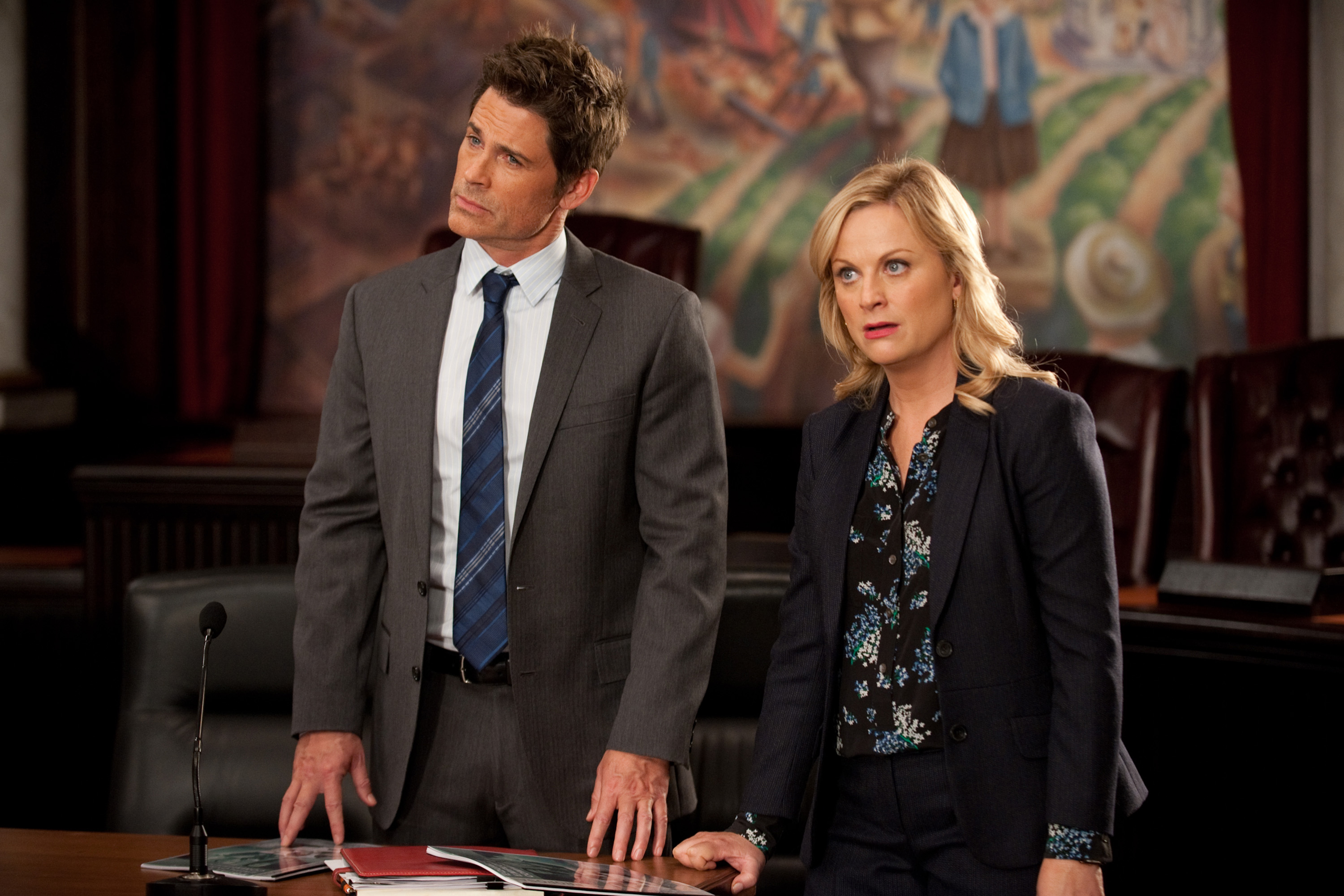 Even Rob Lowe agrees —in 2048 Leslie Knope is president