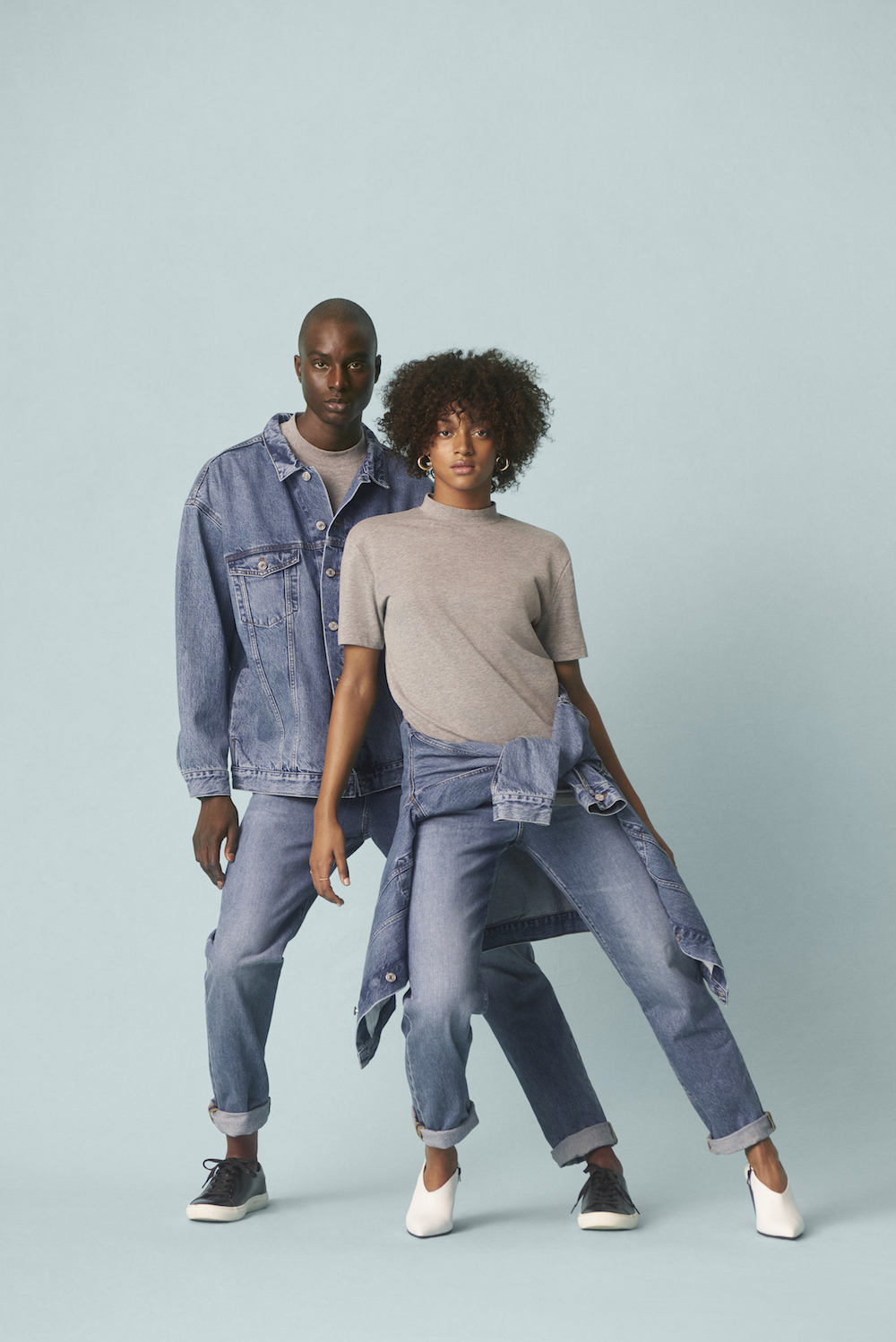 H&M is breaking down gender-barrier walls with a unisex denim collection
