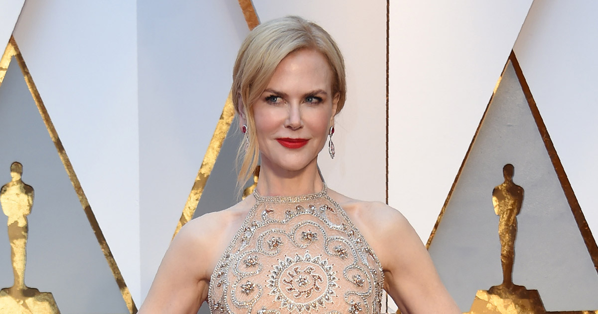 Nicole Kidman has defended her clapping at the Oscars, and it all makes sense now