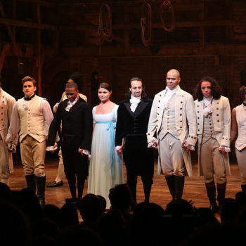 "The ""Hamilton"" cast honored International Women's Day by donating their salaries to charity"