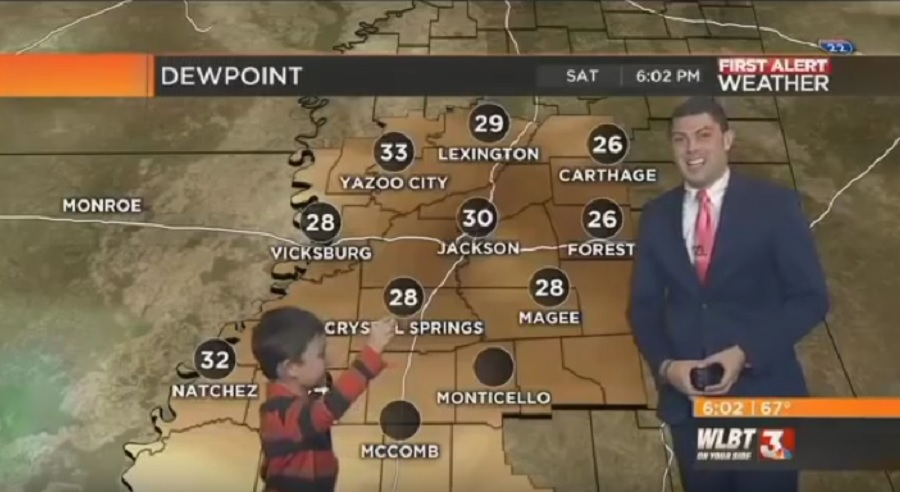 This farting kid crashed a live weather broadcast, and it was definitely funnier than most fart jokes
