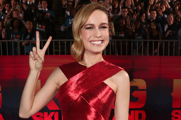 "Brie Larson fangirled so hard when Nick Viall crashed her ""Bachelor"" viewing party"