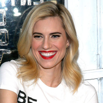 Allison Williams' Women's Day outfit is the perfect way to do patriotic wear