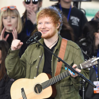 Ed Sheeran is starting a boy band and, well, OKAY!
