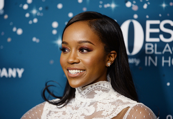 """Watch """"HTGAWM"""" star Aja Naomi King's moving speech on her battle with self-doubt"""
