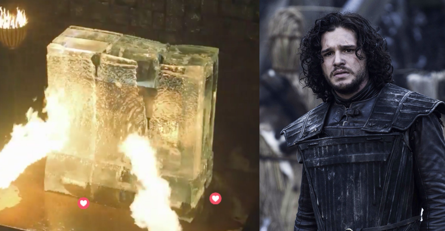 "Over a million people watched a block of ice melt today, because ""Game of Thrones"""