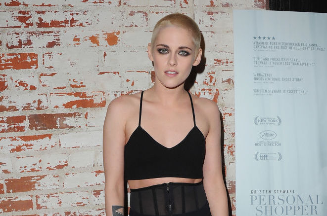 Kristen Stewart looked like a punk Charlie Brown when stepping out in this look