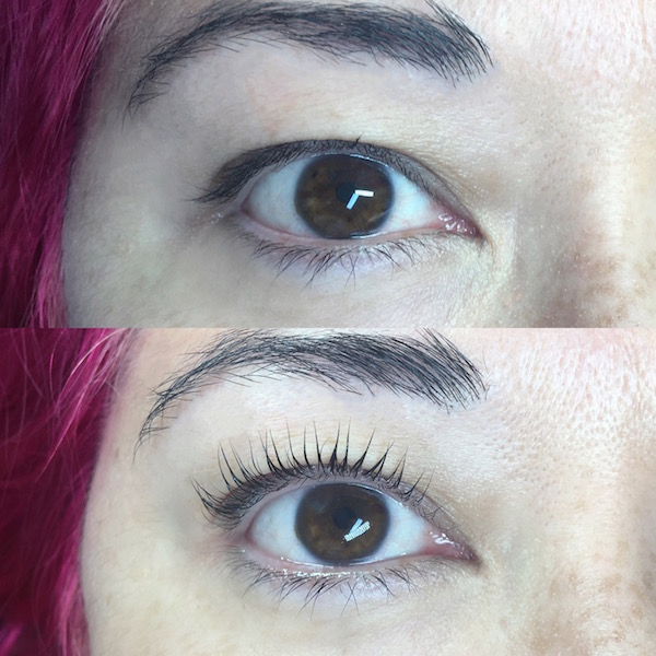 If you're curious about getting a lash lift, read what