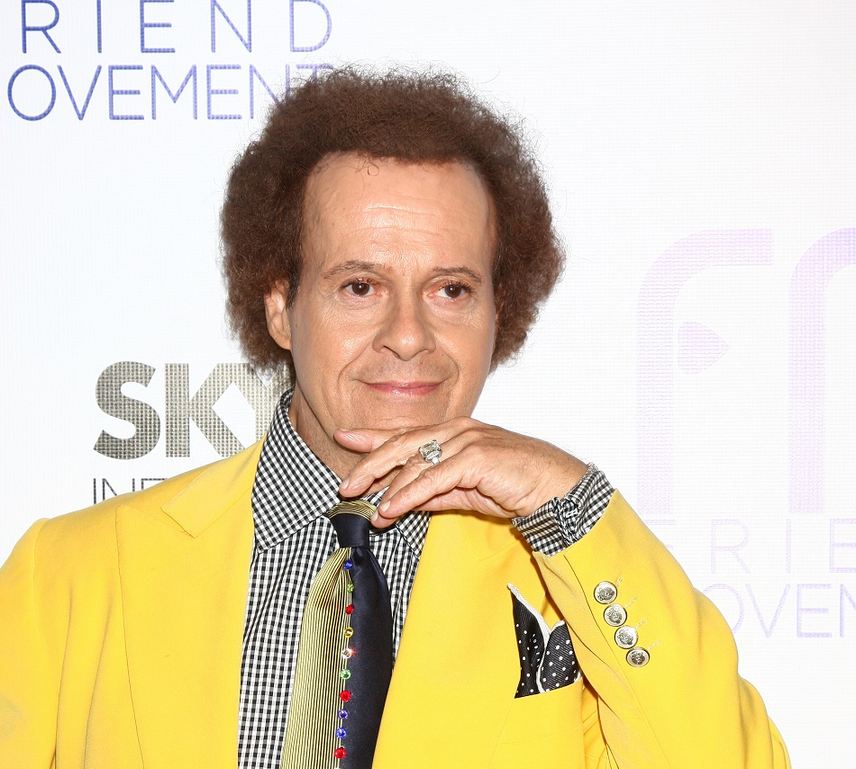 Despite recent rumors, Richard Simmons is alive and well