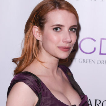 "Emma Roberts just dyed her hair ""Smoky Quartz"" for spring, and we are swooning"
