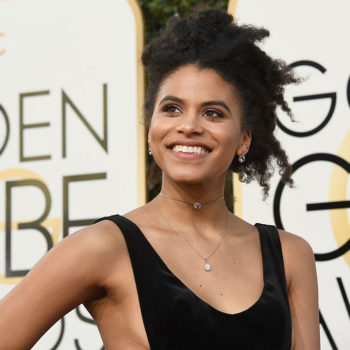 "Zazie Beetz from ""Atlanta"" is going to be in ""Deadpool 2,"" and we definitely approve this decision"