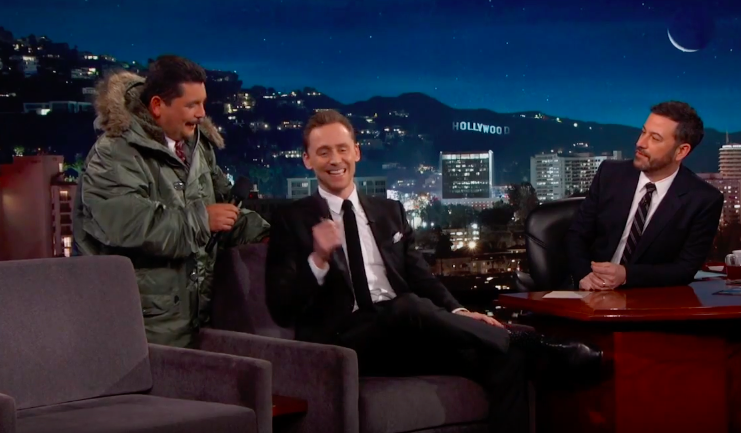 Just in case you didn't know, Tom Hiddleston can speak *and* sing in Spanish