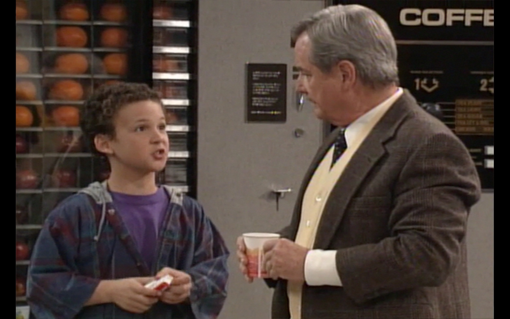"Your childhood was almost drastically different, Mr. Feeny once tried to QUIT ""Boy Meets World"""