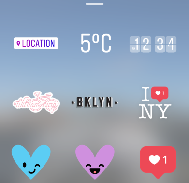 Here's how to use Instagram's new location-based stickers