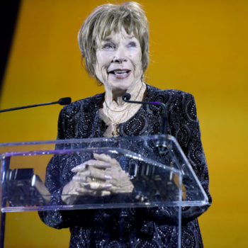 Shirley MacLaine thinks Oprah should be president