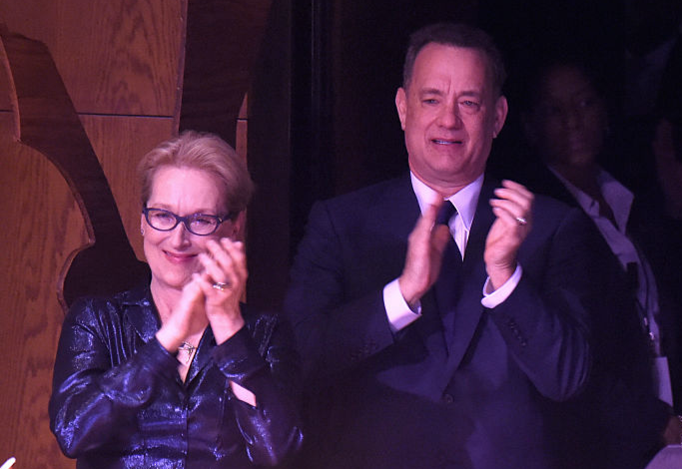 Meryl Streep and Tom Hanks will costar in a political drama with Steven Spielberg directing, and just give it all the Oscars already