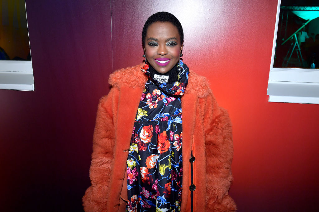 Lauryn Hill just rocked the latest jacket trend at Paris Fashion Week, and it's making us feel warm and fuzzy