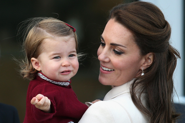Kate Middleton said that Princess Charlotte is in charge of the royal family